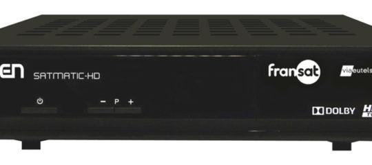 décodeur TNT satellite